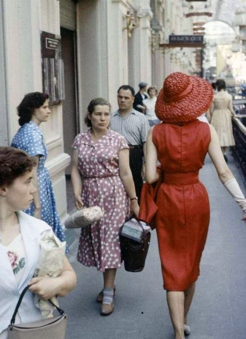 Dior in USSR