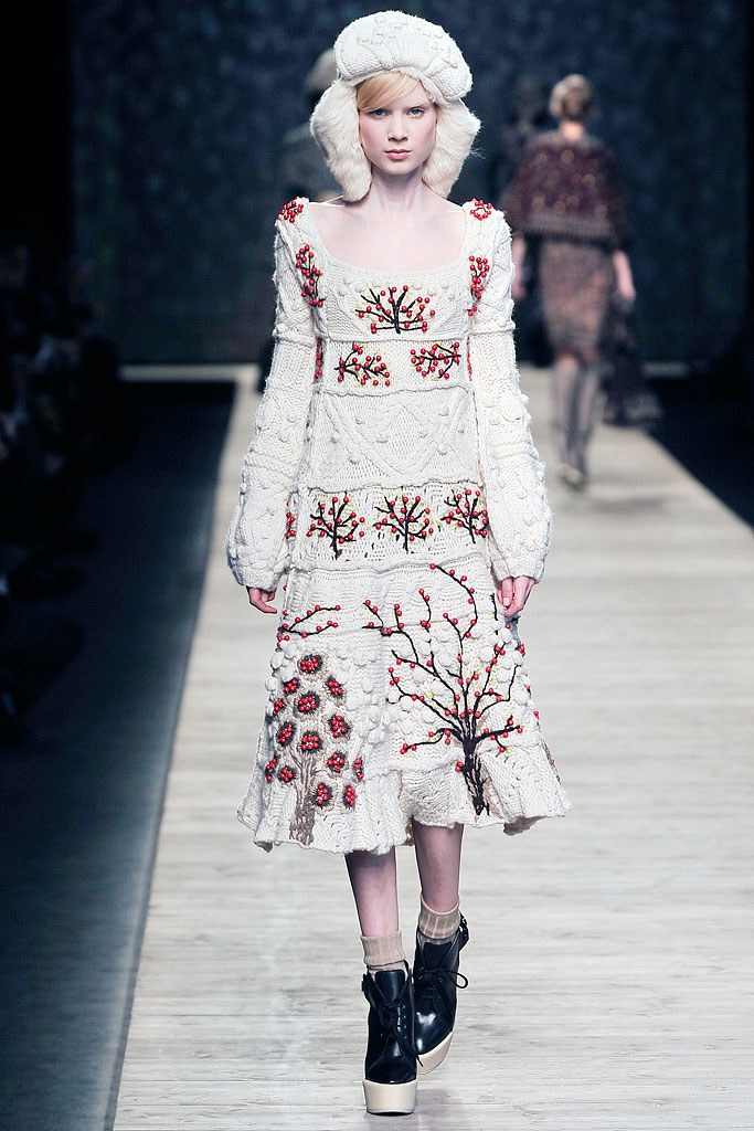 Kenzo Fall 2009 Russian collection
