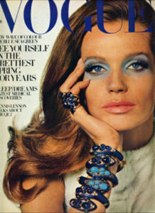 Veruschka and Vogue