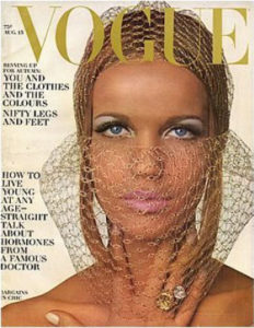 Veruschka in Vogue
