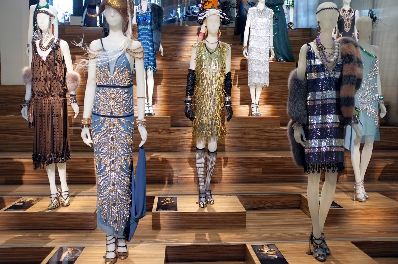 Great Gatsby Costumes Exhibited at Prada Soho