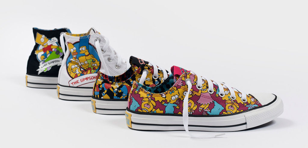 Converse for The Simpsons