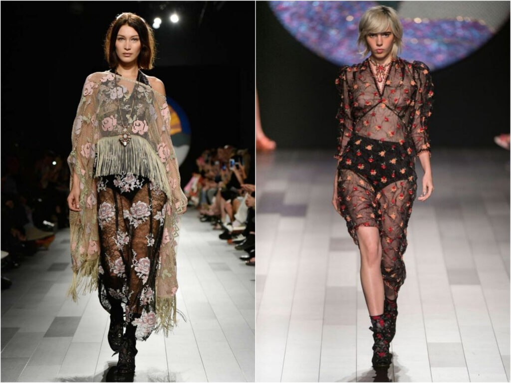 Anna Sui gowns