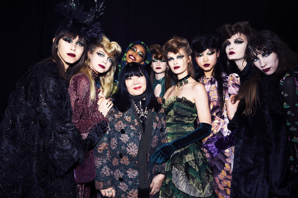 Anna Sui fashion designer