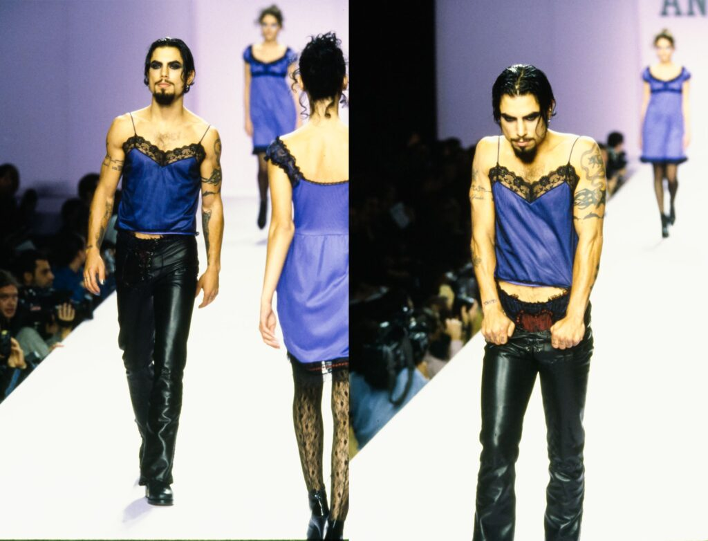 Dave Navarro for Anna Sui
