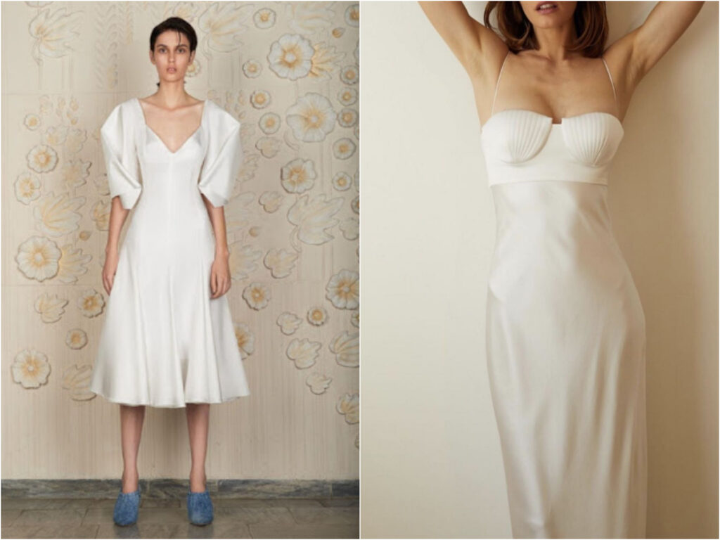 Bevza White Dress