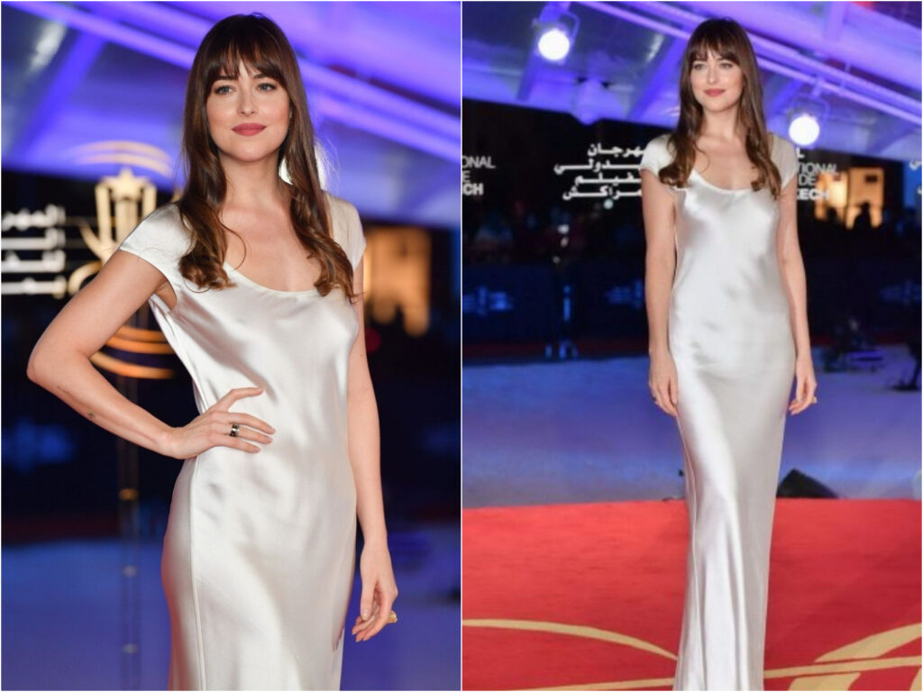 Dakota Johnson in Bevza