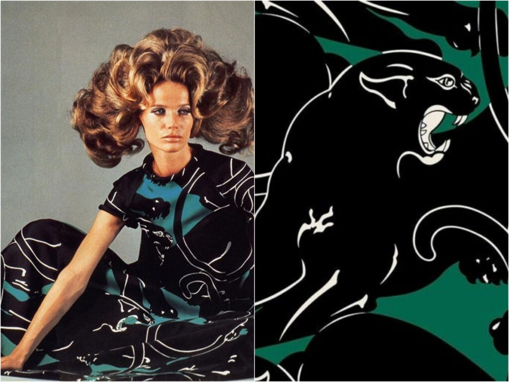 Valentino The Panther Print